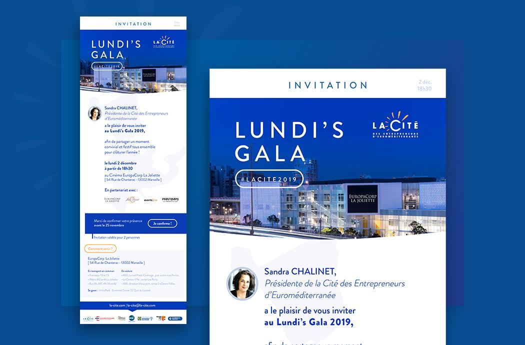 Lundi's Gala, la Cité des Entrepreneurs